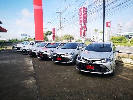 รถเช่าหาดใหญ่ Toyota New Vios