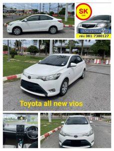 รถเช่าหาดใหญ่ All New Vios