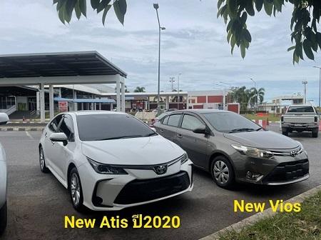 รถเช่าหาดใหญ่ Toyota New Altis ปี2020 & New Vios